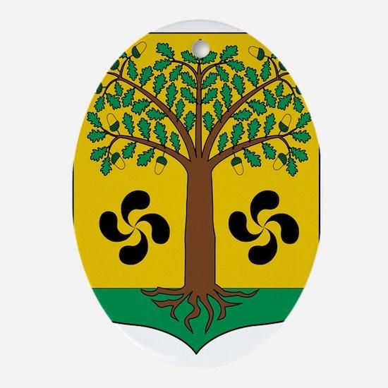 Cute Euskadi Oval Ornament