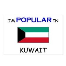 I'm Popular In KUWAIT Postcards (Package of 8)
