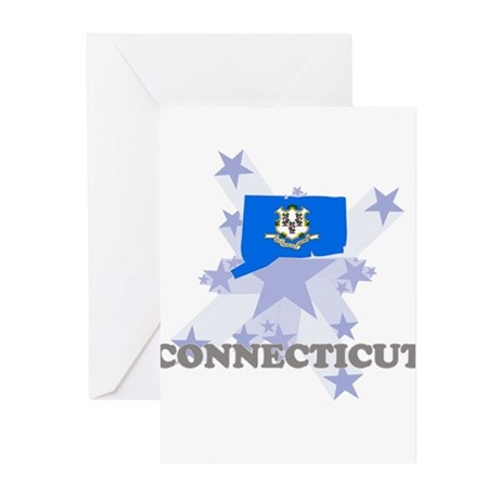 All Star Connecticut Greeting Cards (Pk of 20)