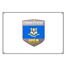 Connecticut USA Crest Banner