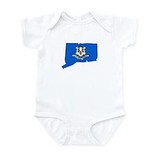 Connecticut Stripe Custom Des Infant Bodysuit