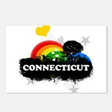 Sweet Fruity Connecticut Postcards (Package of 8)