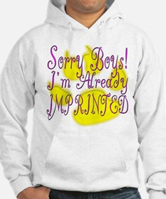 Already Imprinted Funny New M Hoodie