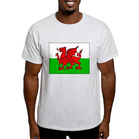 Flag of Wales Light T-Shirt
