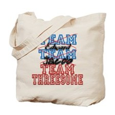Twilight Saga Funny Team Thre Tote Bag