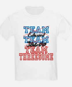 Twilight Saga Funny Team Thre T-Shirt