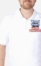 Twilight Saga Funny Team Thre Golf Shirt
