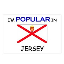I'm Popular In JERSEY Postcards (Package of 8)