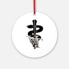 Veterinary Tech Ornament (Round)