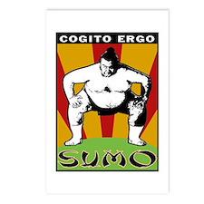Cogito Ergo Sumo Postcards (Package of 8)