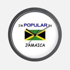 I'm Popular In JAMAICA Wall Clock