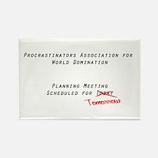 World Procrastination Rectangle Magnet