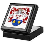 Van Nuys Coat of Arms Keepsake Box
