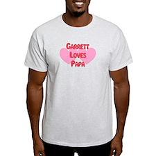 Garrett Loves Papa T-Shirt