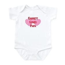 Garrett Loves Papa Infant Bodysuit