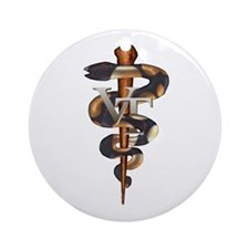 Veterinary Tech Ornament (Round)