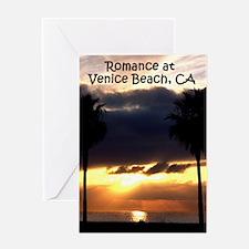 Romance at Venice Beach, Cali Greeting Card