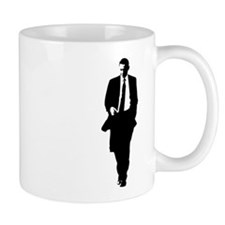 Big Obama Silhouette Small Small Mug