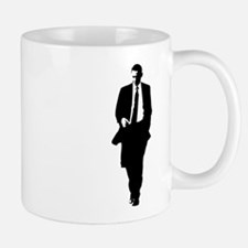 Big Obama Silhouette Small Small Mug