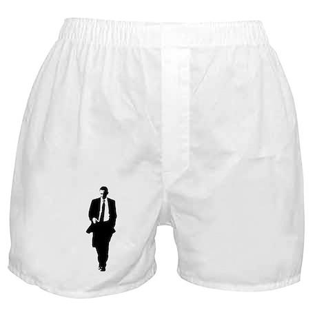 Big Obama Silhouette Boxer Shorts