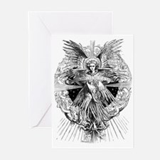 ANGEL OF BETHLEHEM Greeting Cards (Pk of 10)
