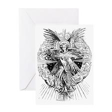 ANGEL OF BETHLEHEM Greeting Card