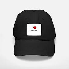 I LOVE MY PLOTT HOUND Baseball Hat