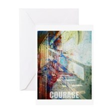 """Courage"" serenity & recovery Greeti"