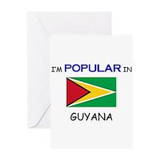 I'm Popular In GUYANA Greeting Card