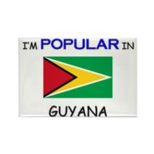 I'm Popular In GUYANA Rectangle Magnet