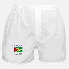 I'm Popular In GUYANA Boxer Shorts