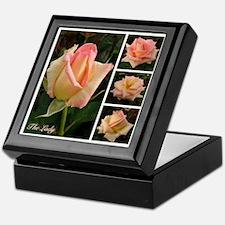 """English Rose """"The Lady"""" Keepsake Box"""