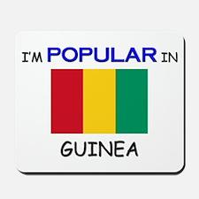 I'm Popular In GUINEA Mousepad