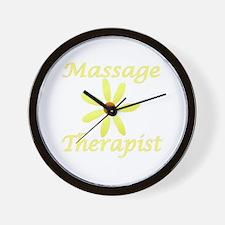 Massage Therapist2 Wall Clock