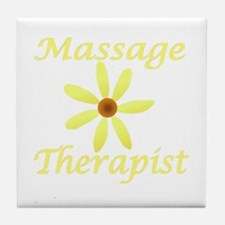 Massage Therapist2 Tile Coaster