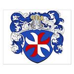 Van Pelt Coat of Arms Small Poster