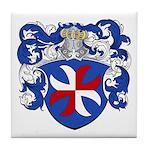 Van Pelt Coat of Arms Tile Coaster