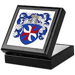 Van Pelt Coat of Arms Keepsake Box
