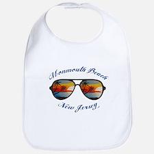 New Jersey - Monmouth Beach Baby Bib