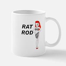 Rat Rod Red Mug
