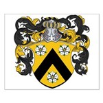 Van Putten Coat of Arms Small Poster