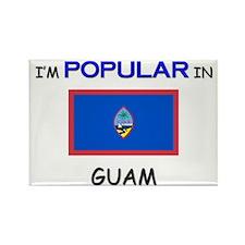 I'm Popular In GUAM Rectangle Magnet