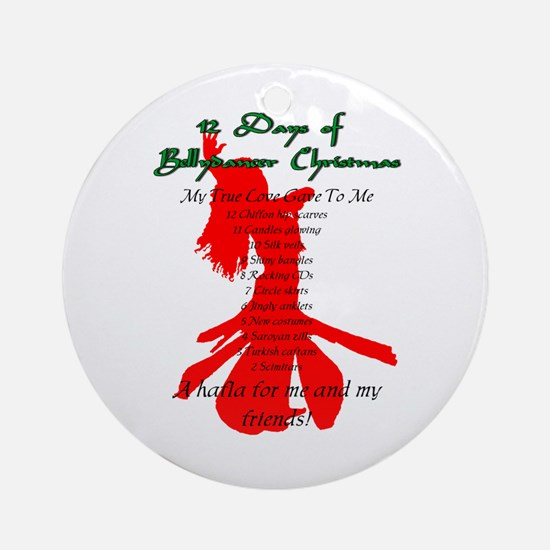 12 Days Ornament (Round)