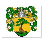 Van Rees Coat of Arms Small Poster