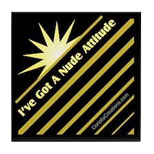Nude Attitude - Tile Coaster