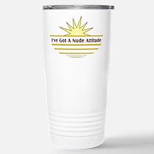 Nude Attitude - Travel Mug