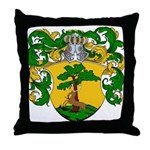 Van Rees Coat of Arms Throw Pillow