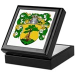 Van Rees Coat of Arms Keepsake Box