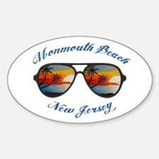 New Jersey - Monmouth Beach Bumper Stickers