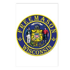 Wisconsin Masons Postcards (Package of 8)